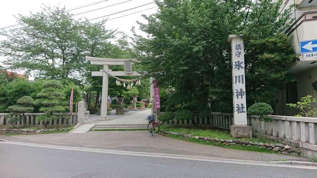 鎮守氷川神社の建物その他