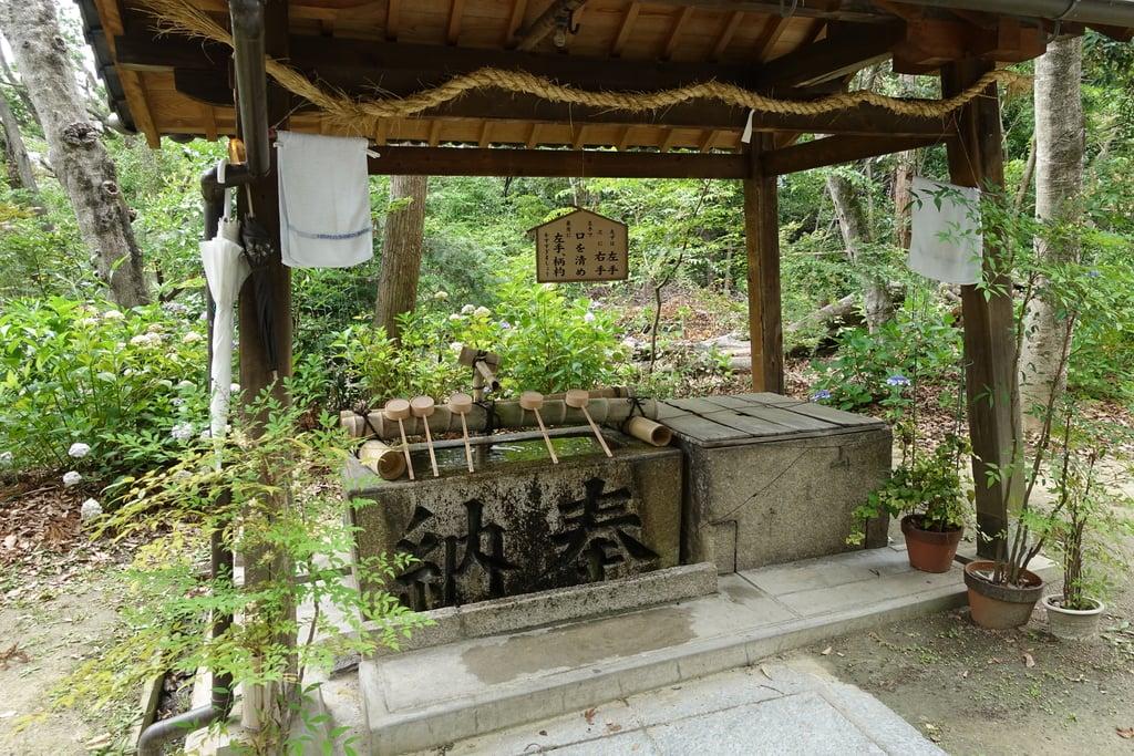 交野天神社の手水