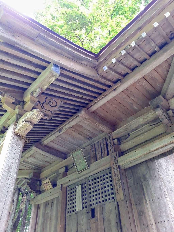 市姫神社の本殿