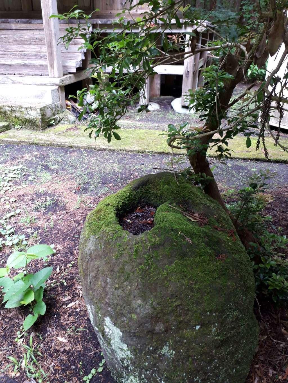 市姫神社の庭園