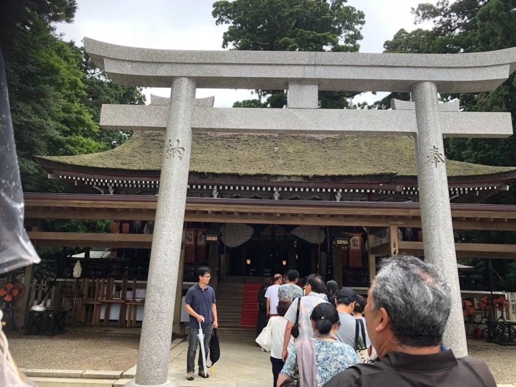 鹿島神宮の鳥居