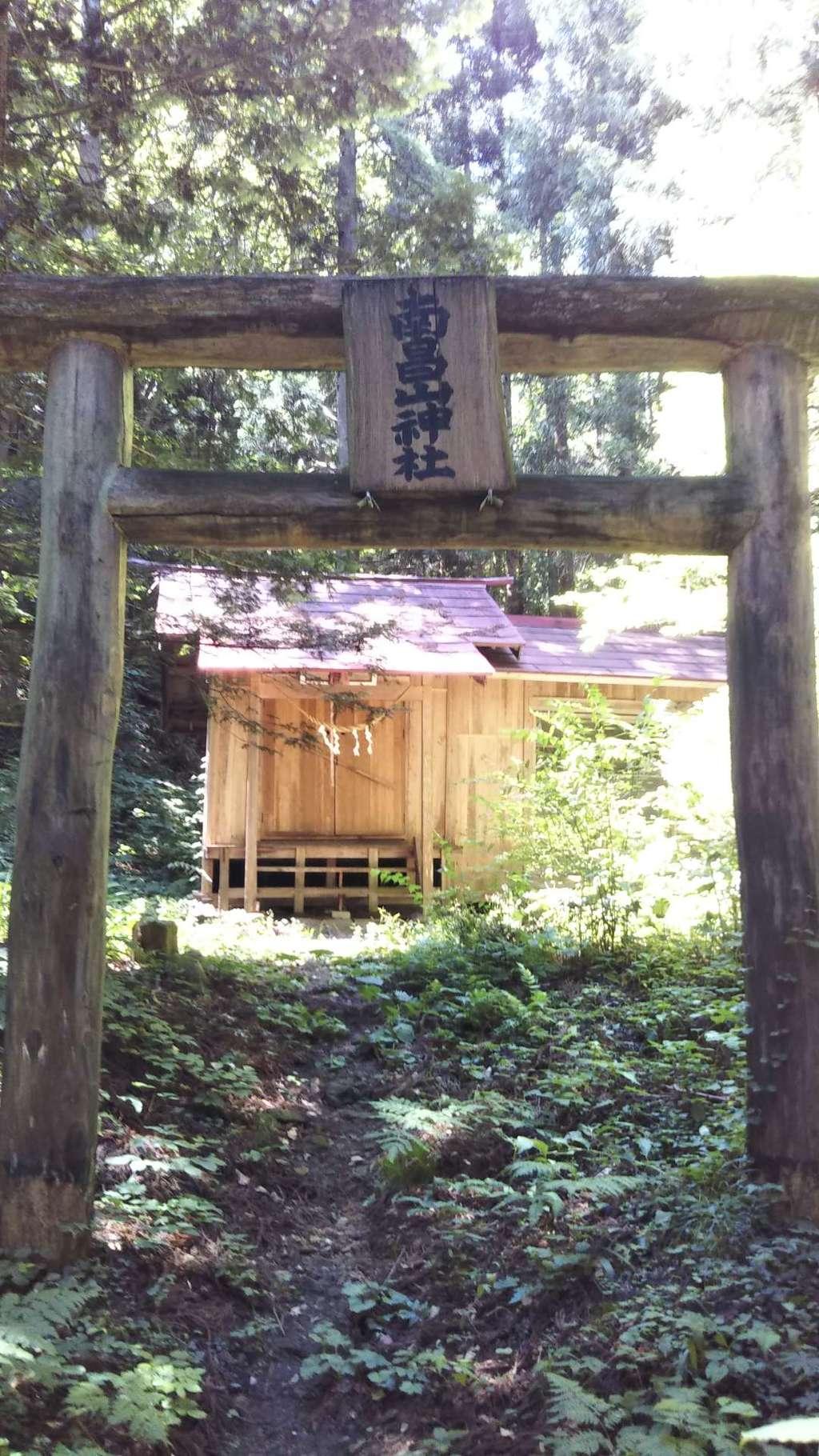 南昌山神社の鳥居