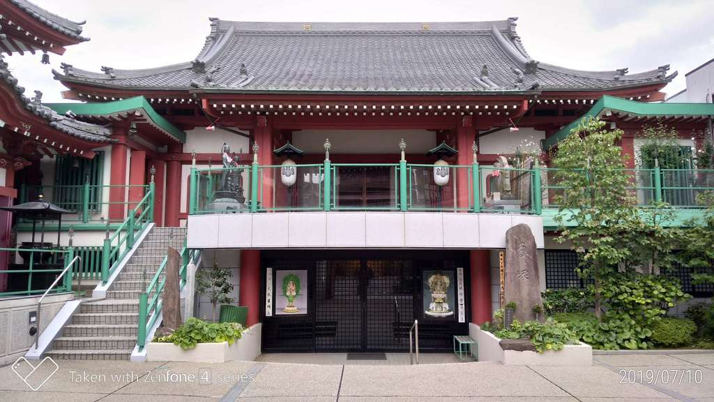 法乗院(深川閻魔堂)の本殿