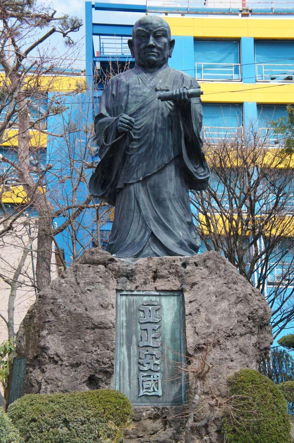 蓮華寺の像