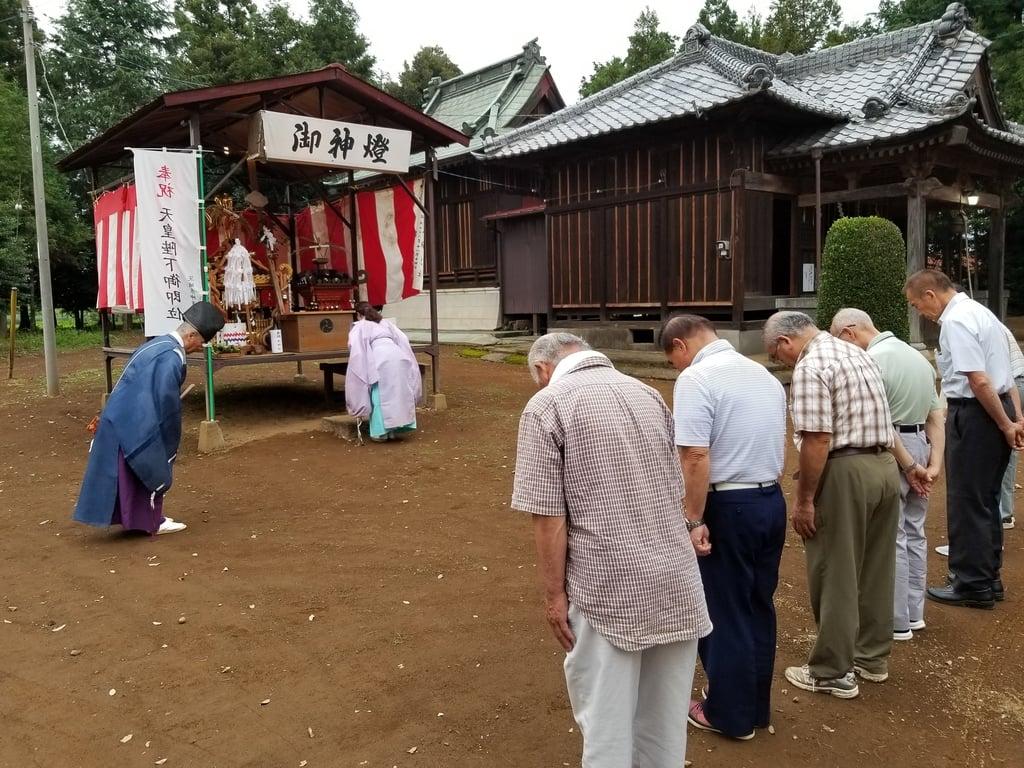 伏木香取神社のお祭り