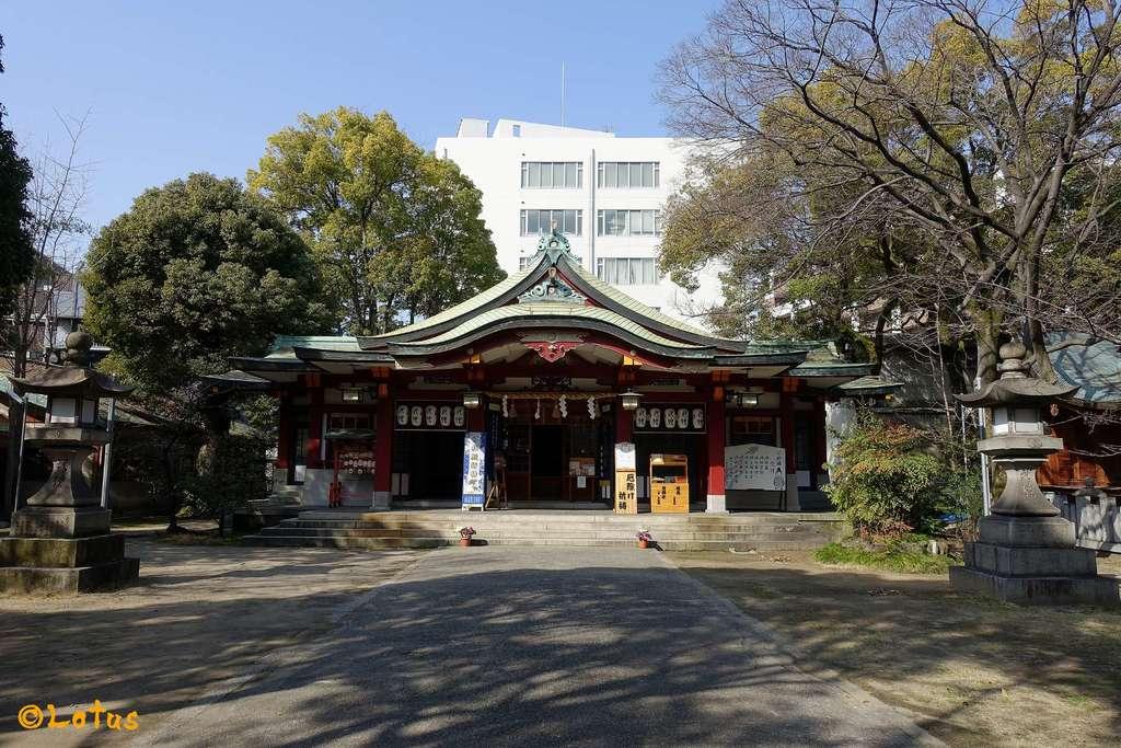 豊崎神社の本殿