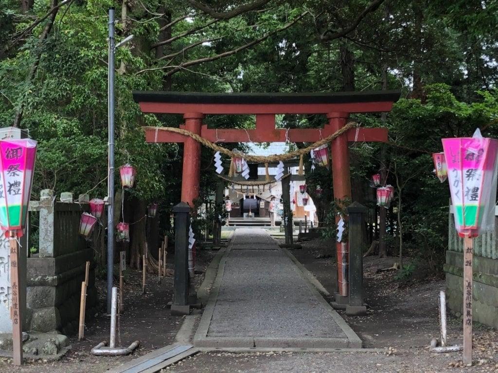 山名神社の鳥居