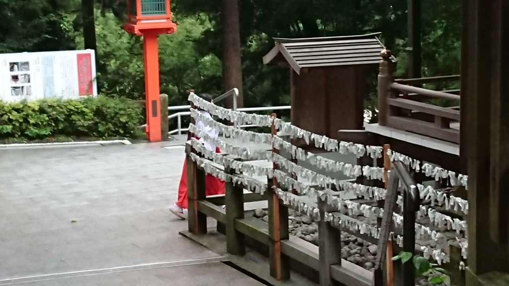 枚岡神社のおみくじ