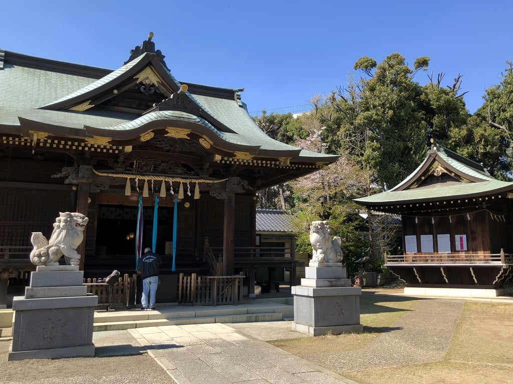 赤羽八幡神社の本殿