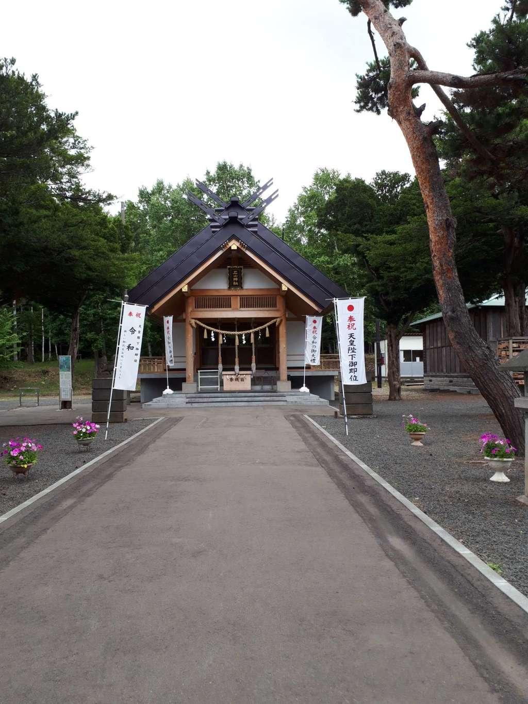 石山神社の本殿