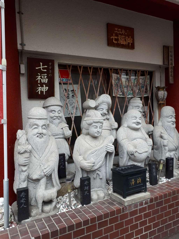豊川稲荷札幌別院(玉宝禅寺)の像