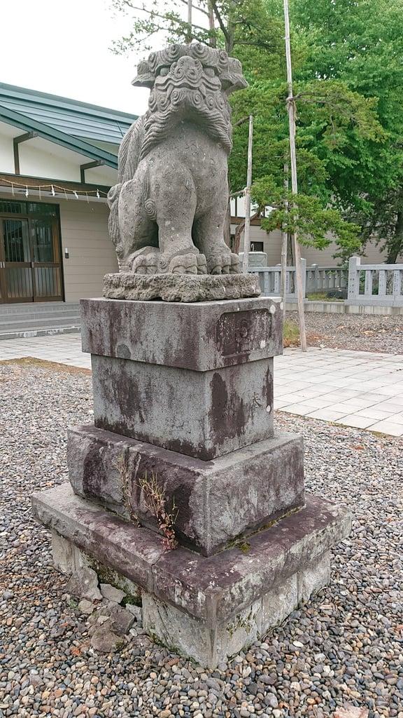 大國神社の狛犬