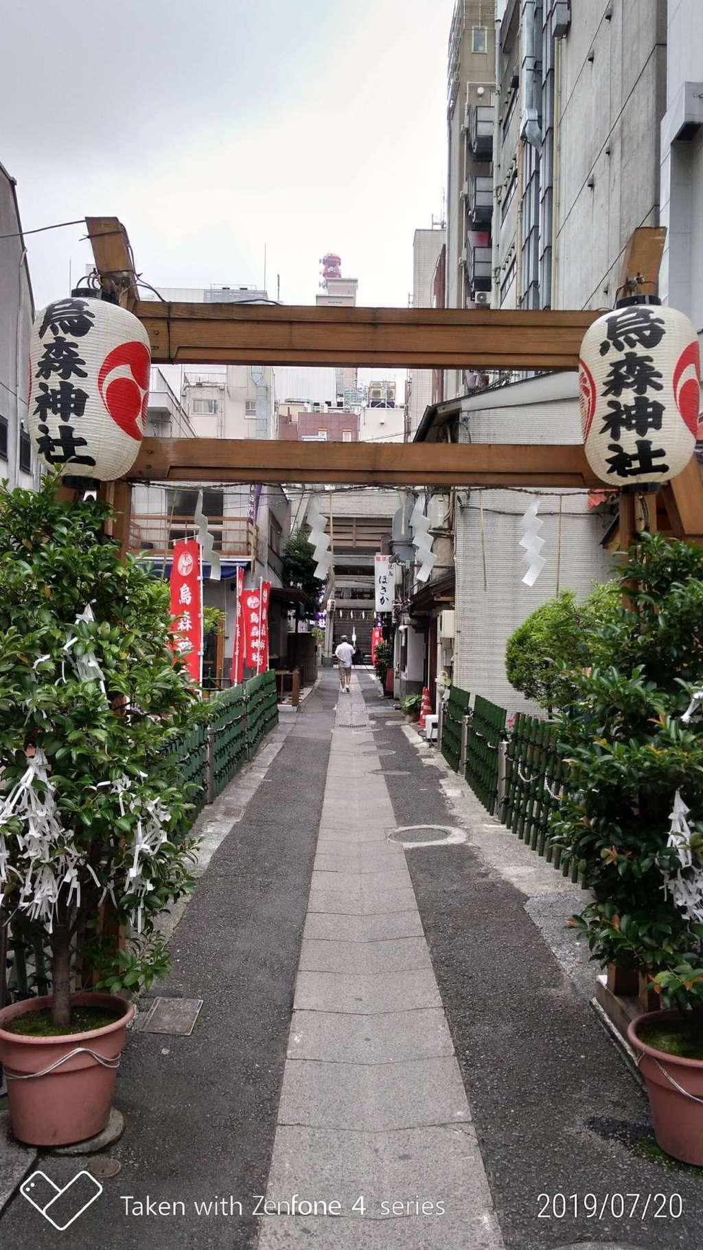 烏森神社の境内・文化財
