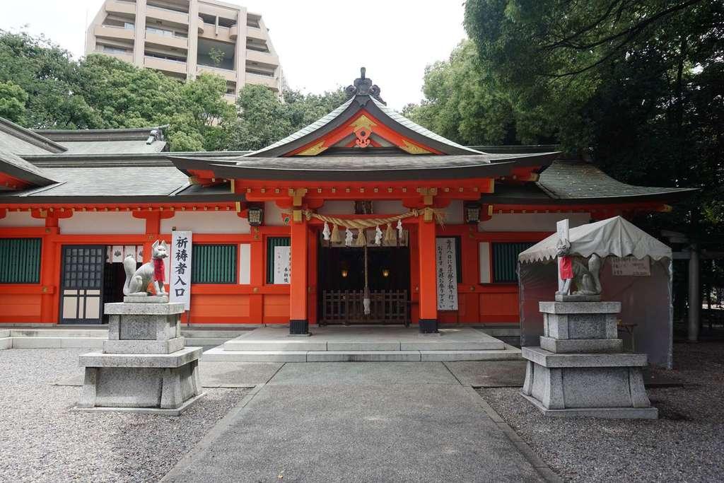 金神社の境内・文化財
