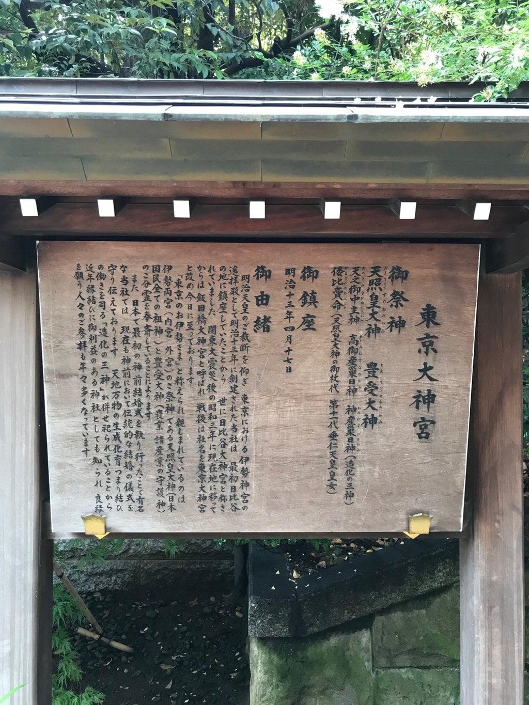 東京大神宮の歴史