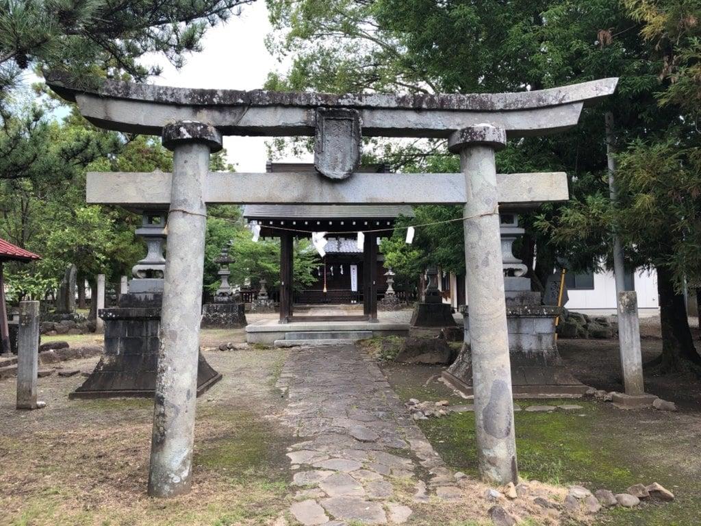 柴宮神社の鳥居