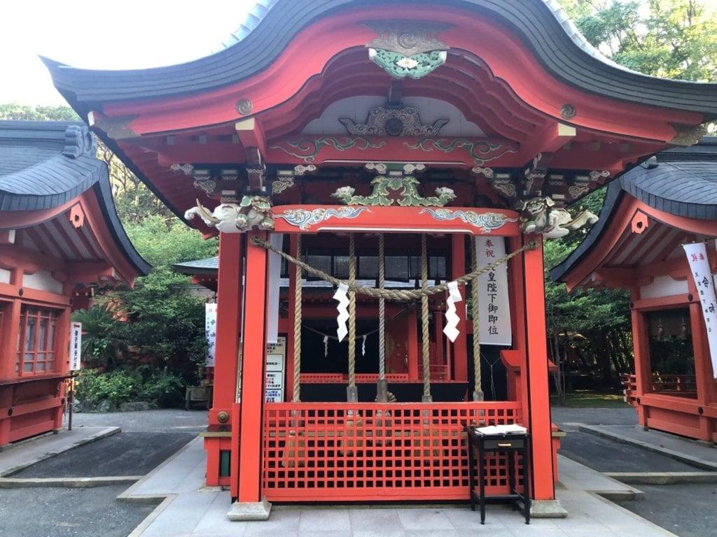 枚聞神社の末社