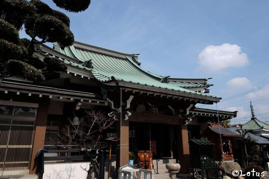 京善寺の鳥居