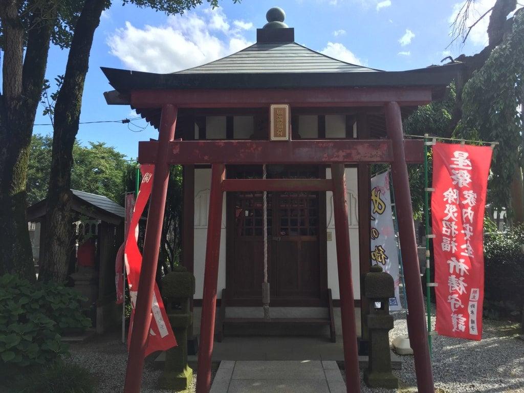 妙建寺の鳥居