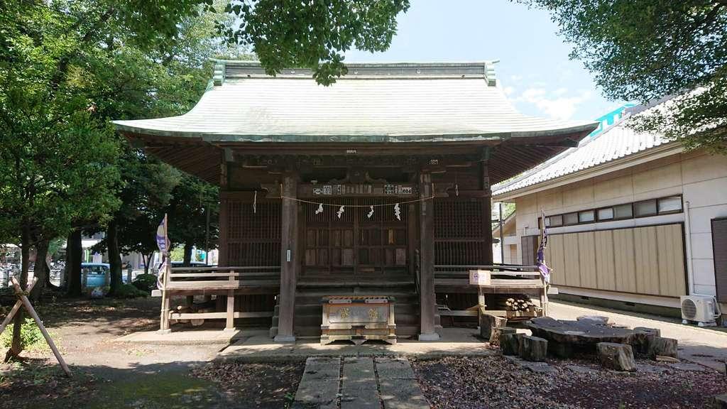 常久八幡神社の本殿