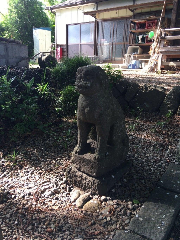 鹿島神社の狛犬