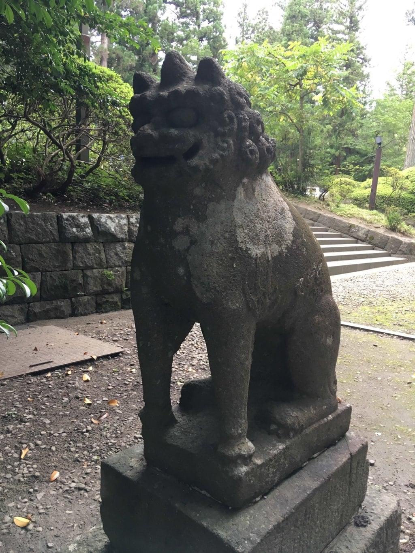 大崎八幡宮の狛犬