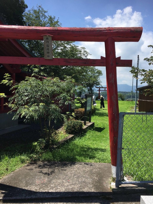 新川稲荷神社の鳥居
