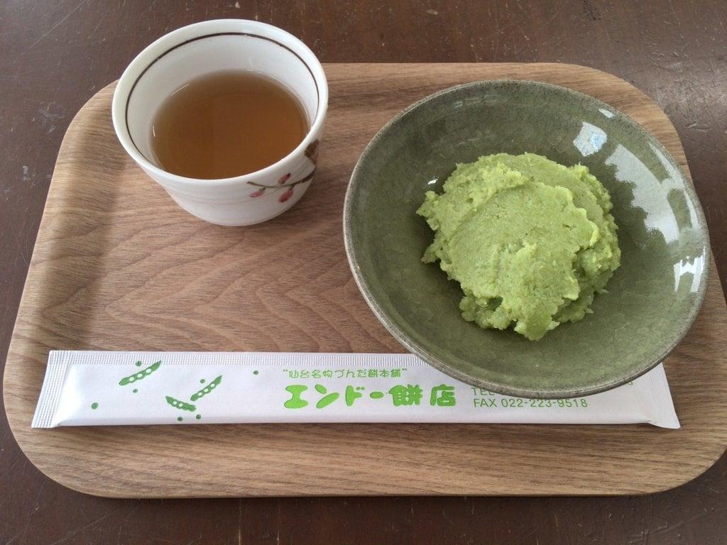仙台東照宮の食事