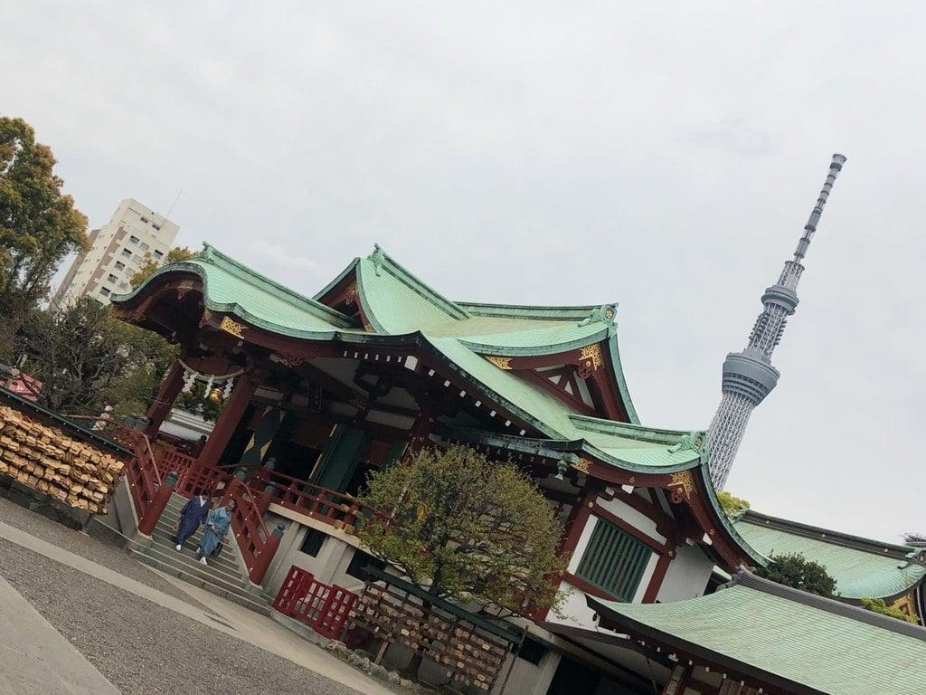 亀戸天神社の本殿