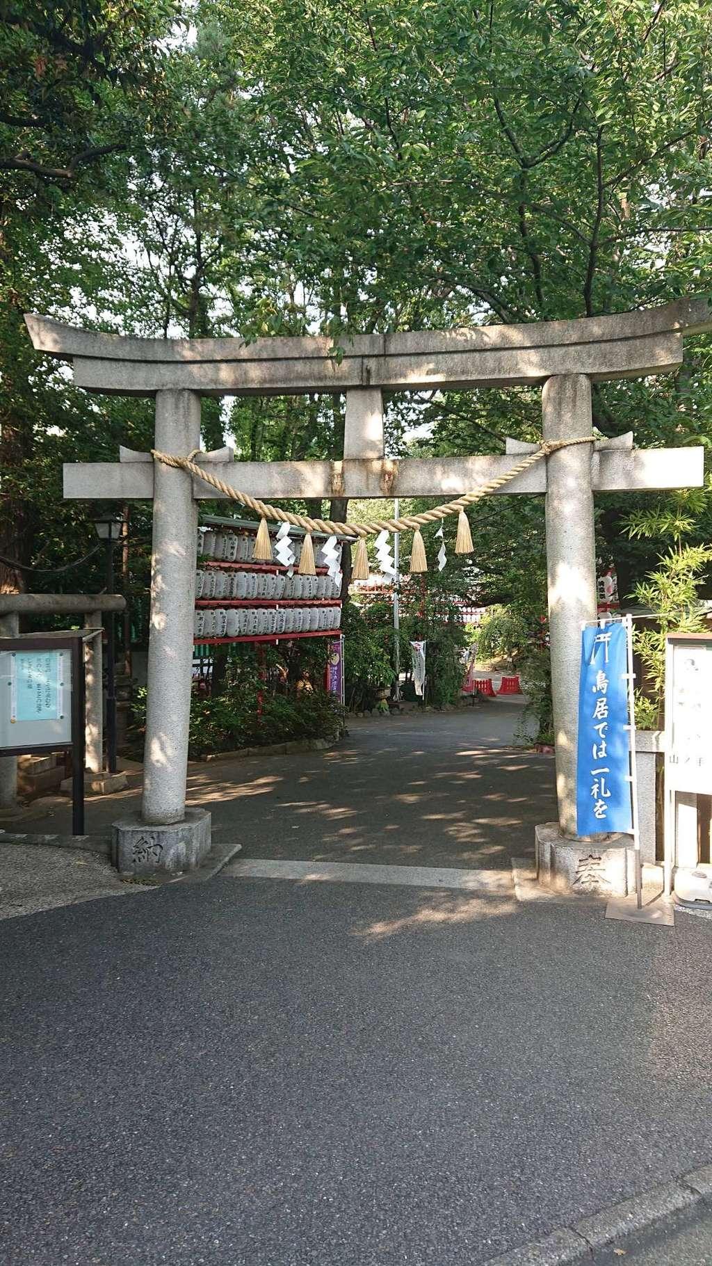 居木神社の鳥居
