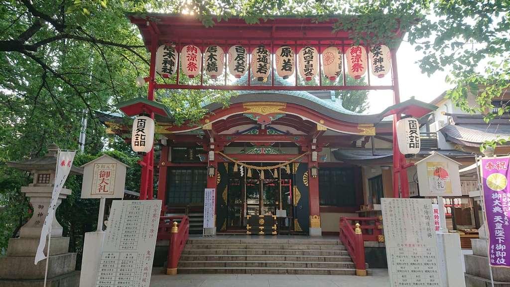 居木神社の本殿