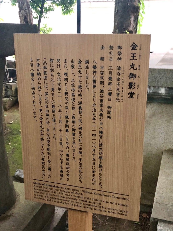 金王八幡宮の歴史