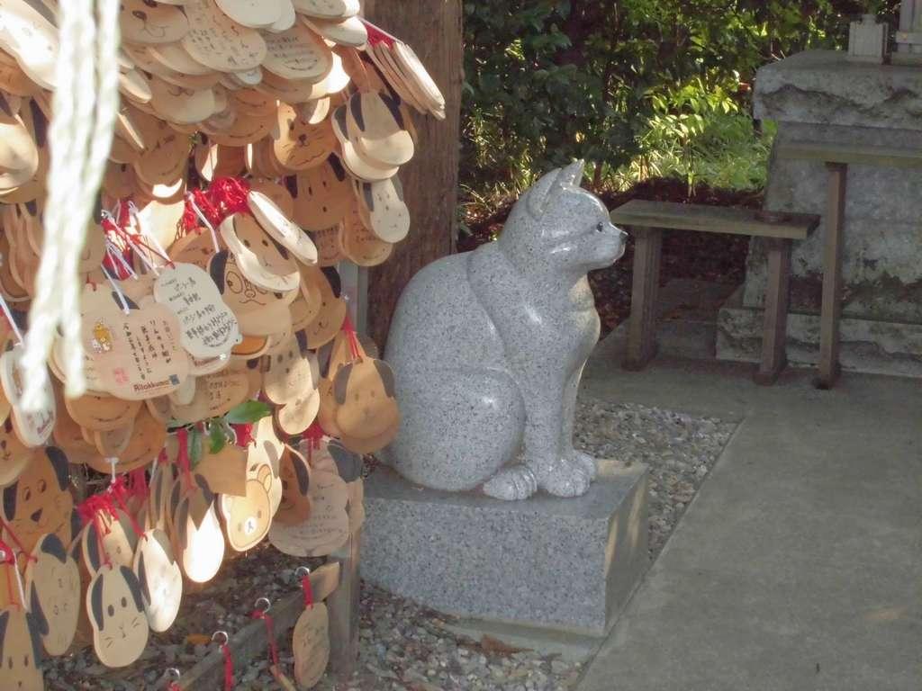 座間神社の狛犬