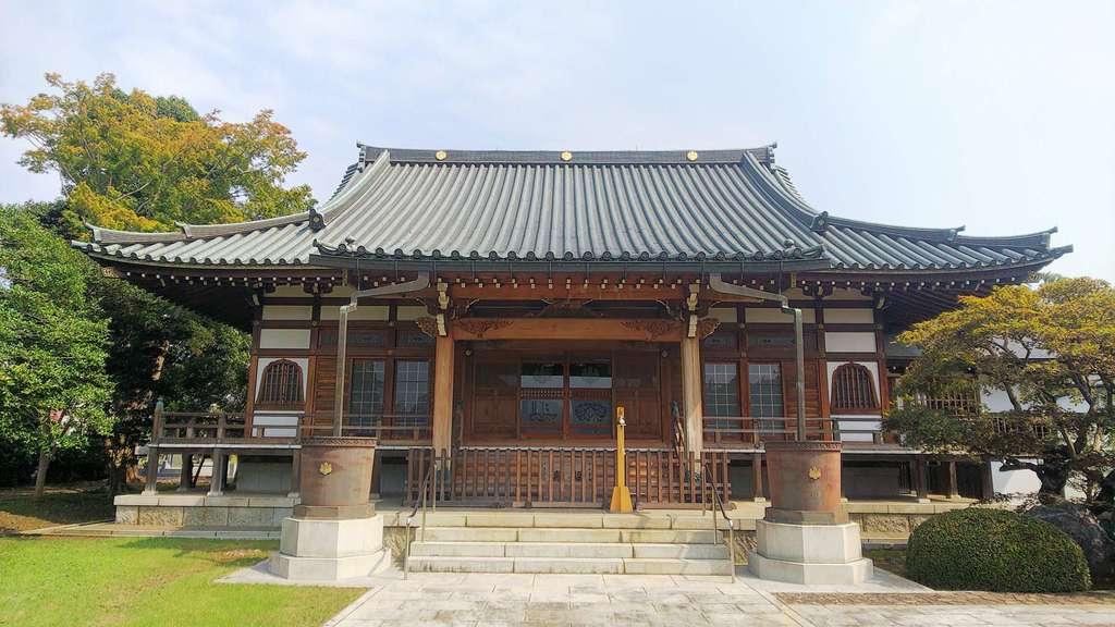 廣渡寺の本殿