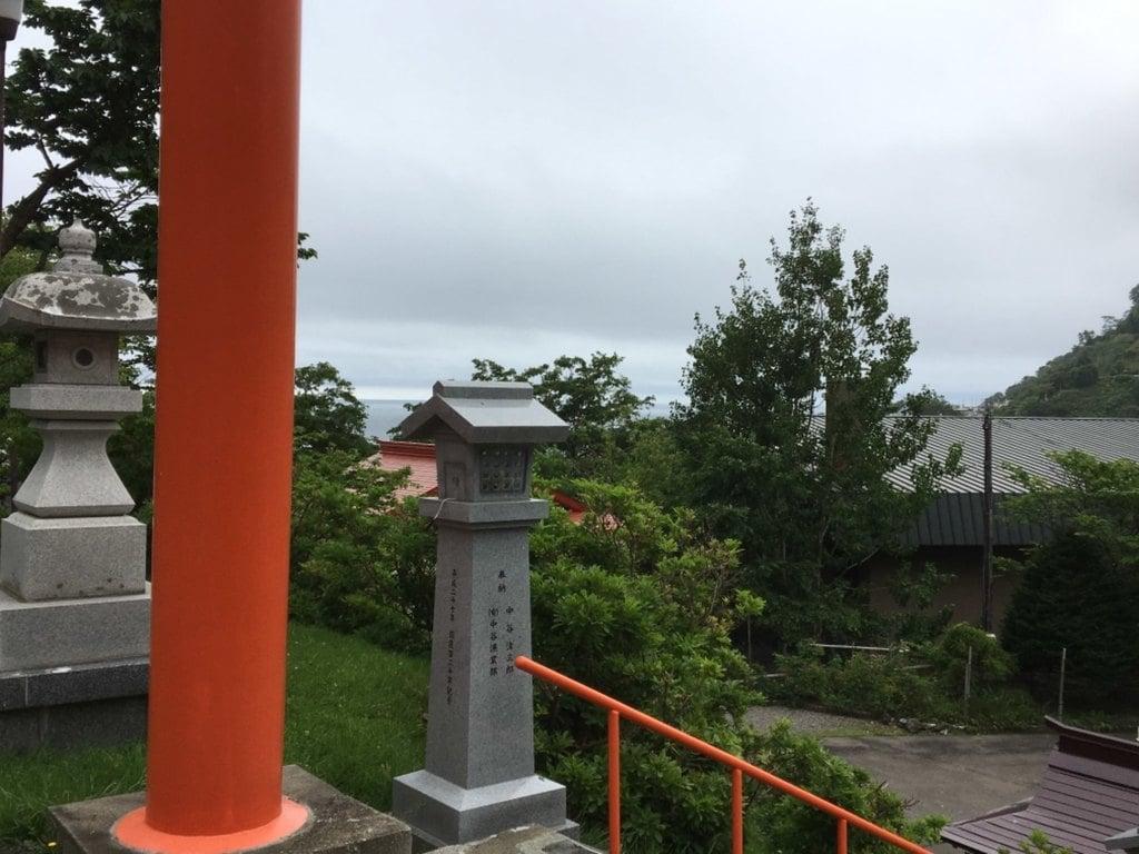 羅臼神社の周辺