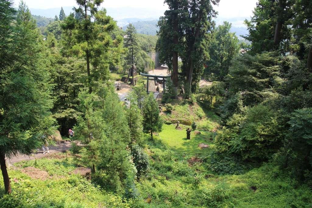 妙義神社の景色