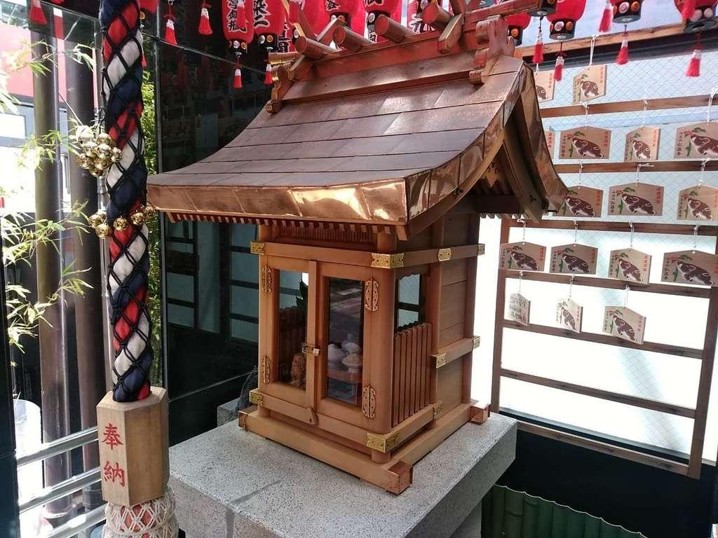南乃福寿弁財天の本殿