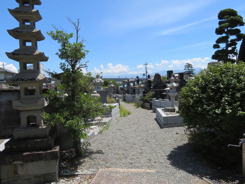 法源寺のお墓