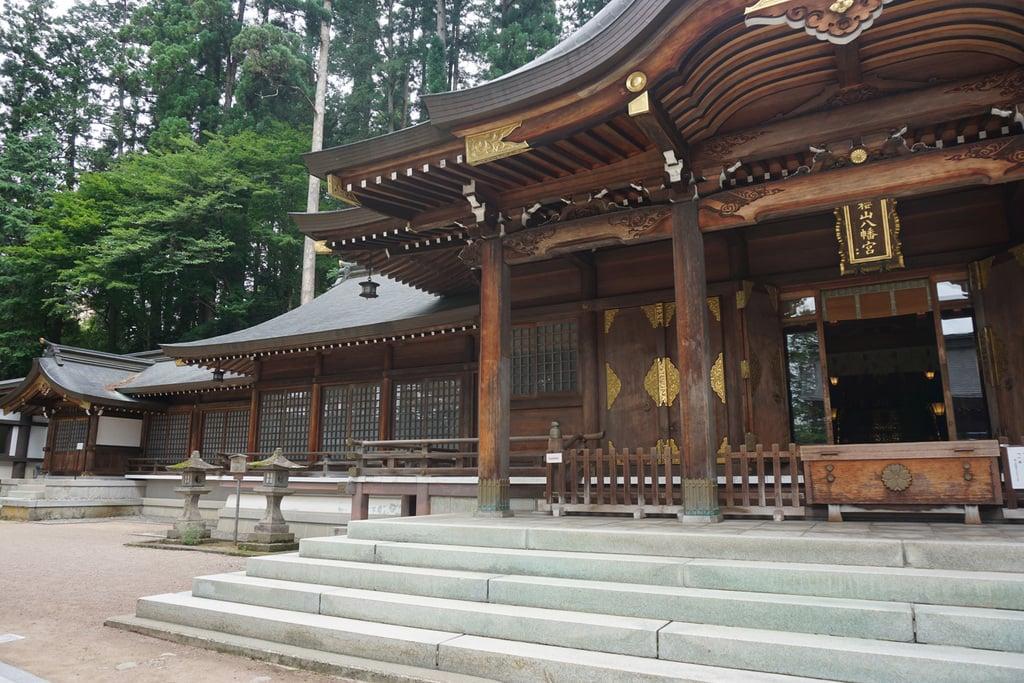 櫻山八幡宮の本殿