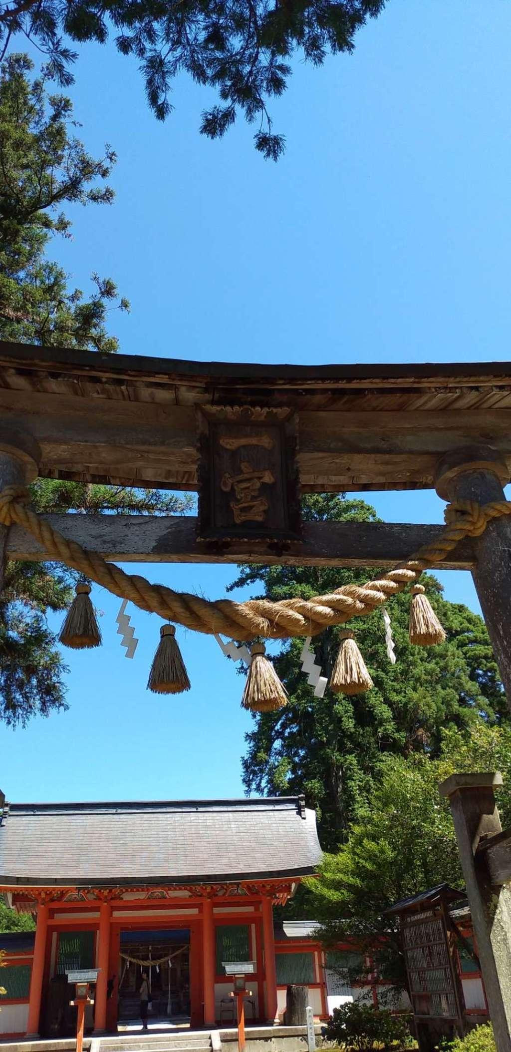出石神社の鳥居