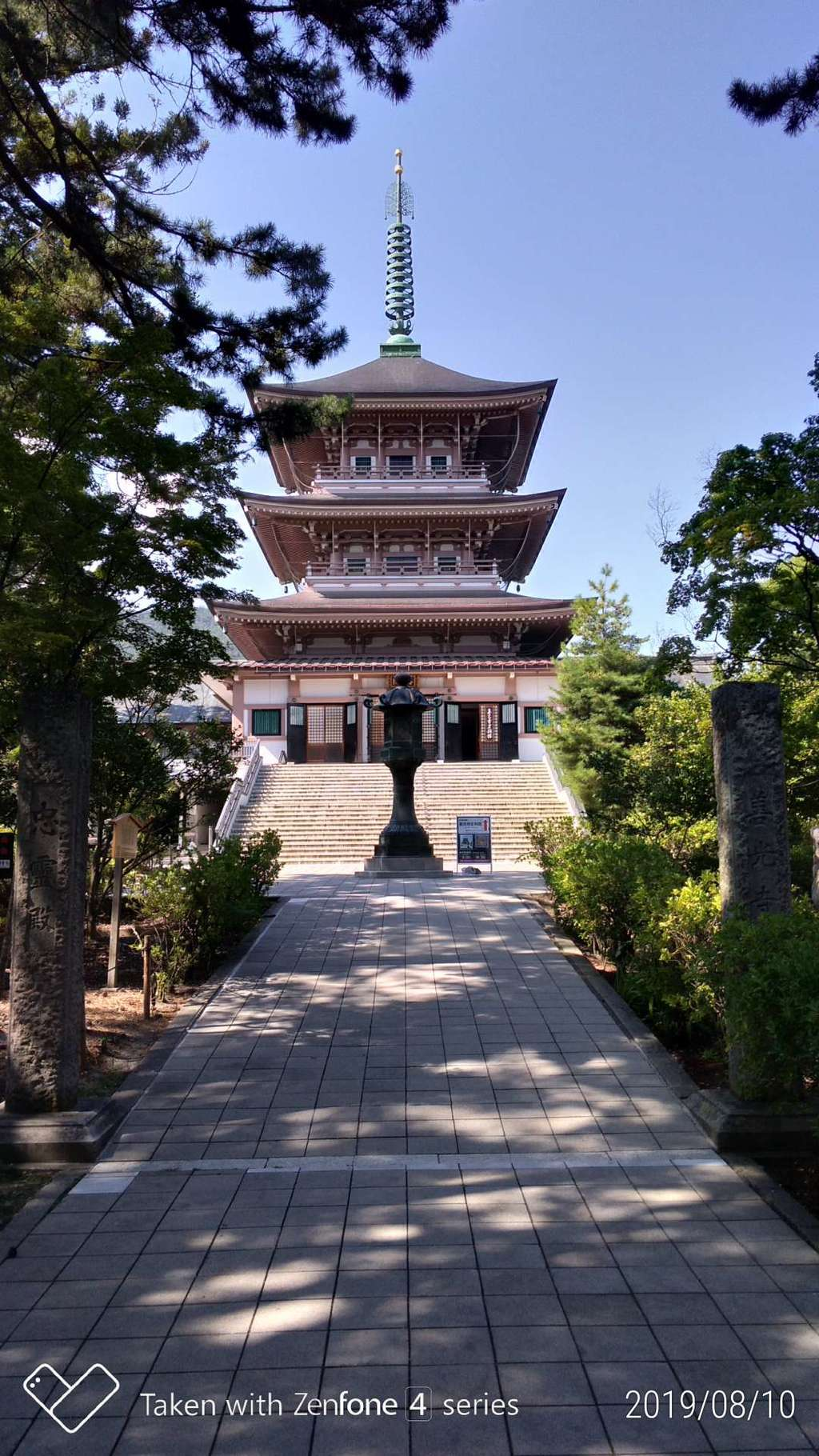 善光寺の塔