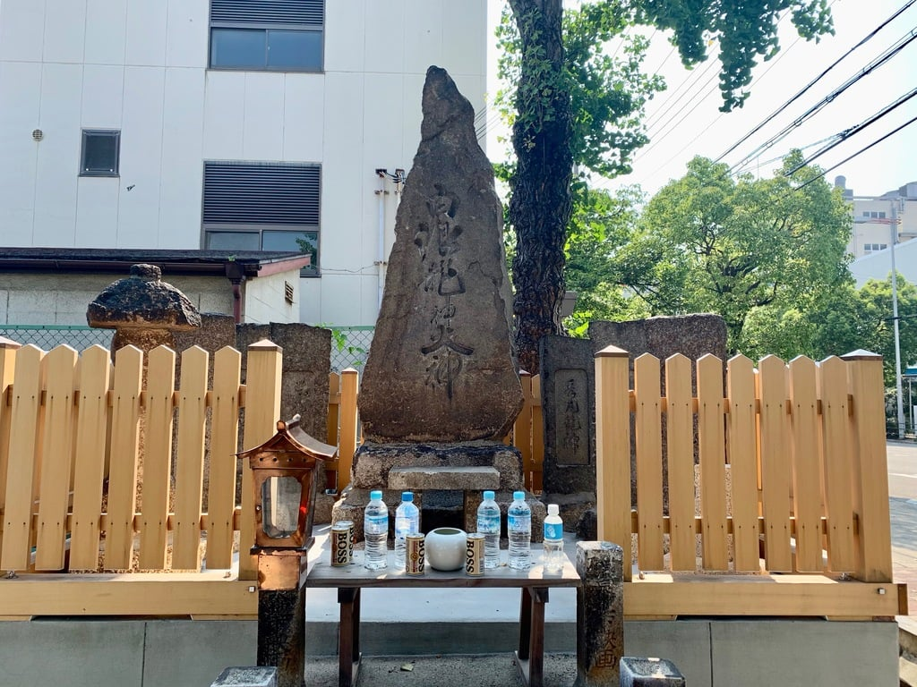 白浪大神鴉宮神社御旅所北港桜島神社の本殿