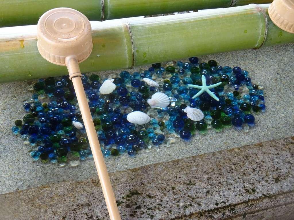 森戸大明神(森戸神社)の手水