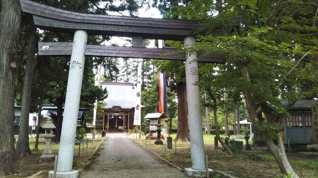 浅舞八幡神社の鳥居