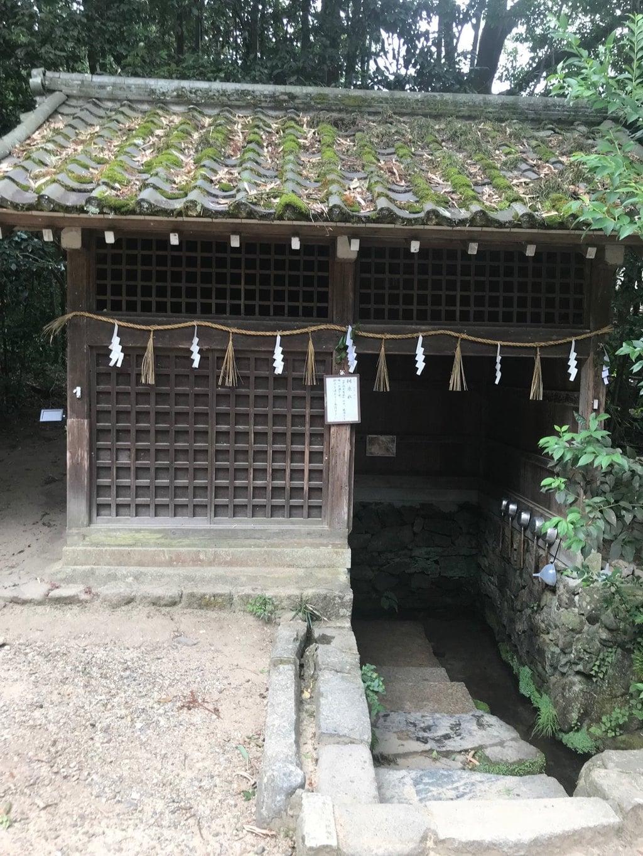 宇治上神社の手水