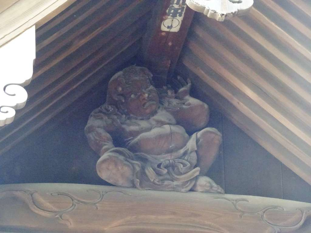 叶神社 (西叶神社)の像