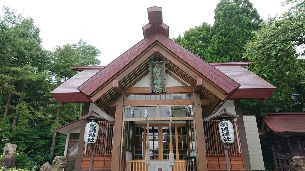 船魂神社の本殿