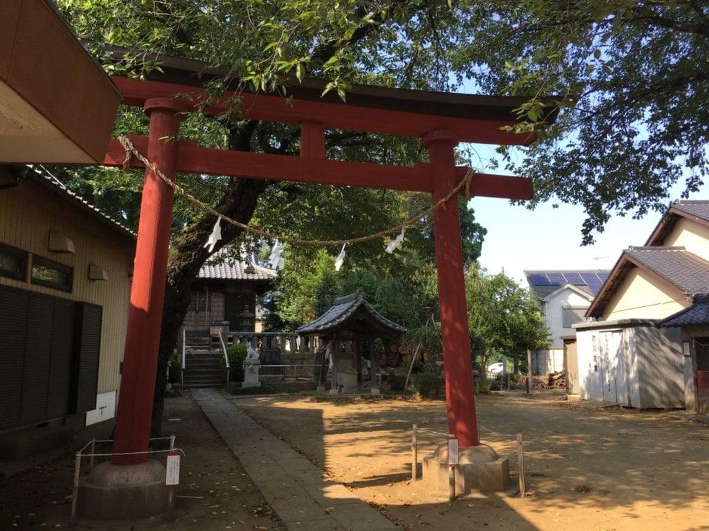 稲荷神社の鳥居