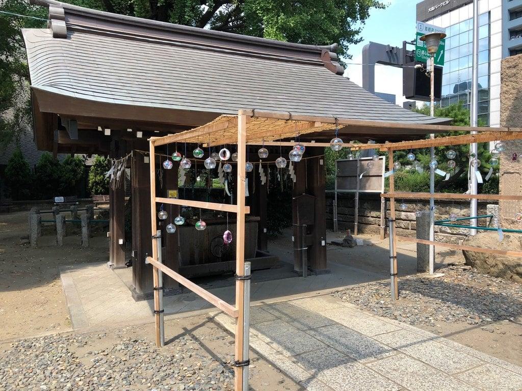 磐井神社の手水