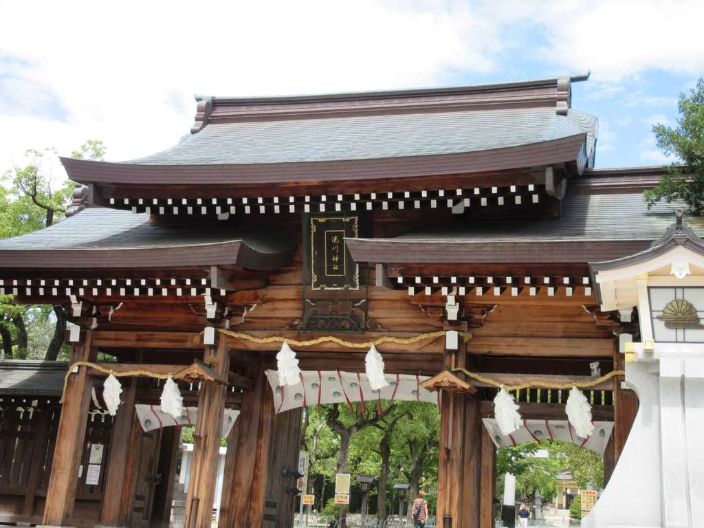 湊川神社の山門